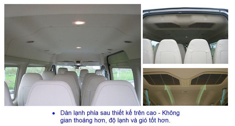 Đặc điểm kỹ thuật trên xe Ford Transit-5