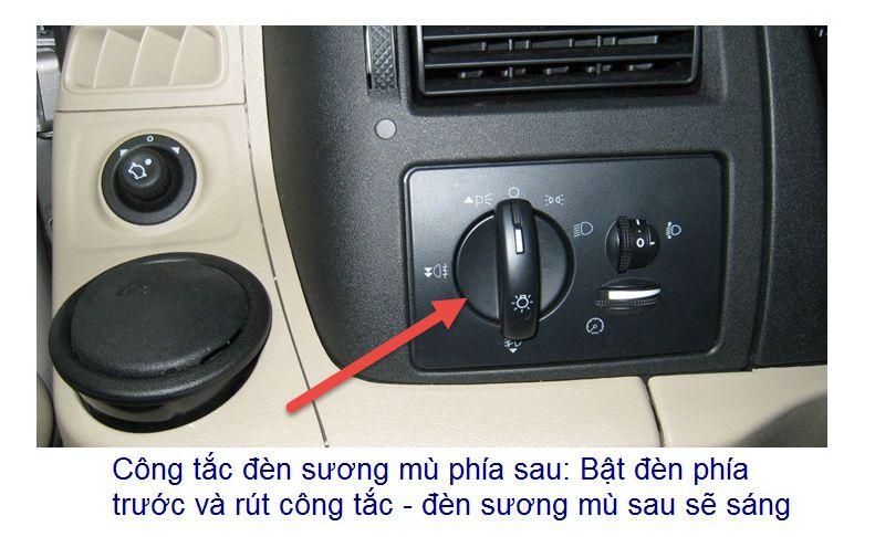 Đặc điểm kỹ thuật trên xe Ford Transit