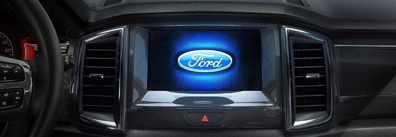 Hệ thống giải trí trên xe Ford Everest 2019