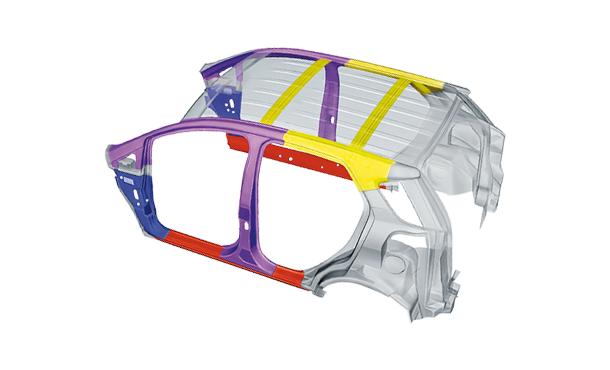 khung gầm vững chắc của xe Ford Ecosport 2017