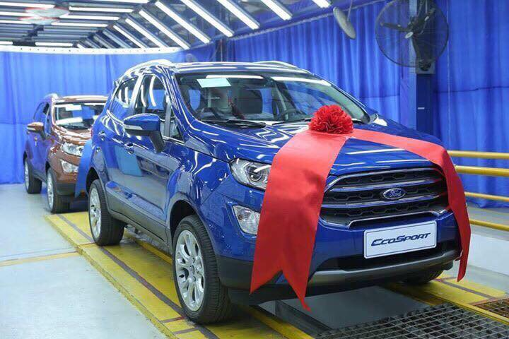 Ford EcoSport Trend 1.5L AT 20184