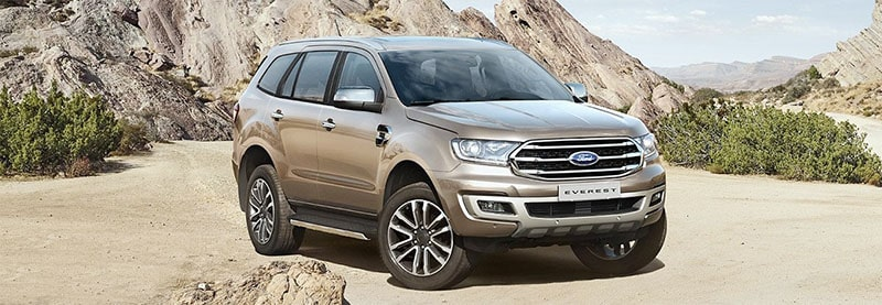 Thiết kế mới với xe Ford Everest 2019