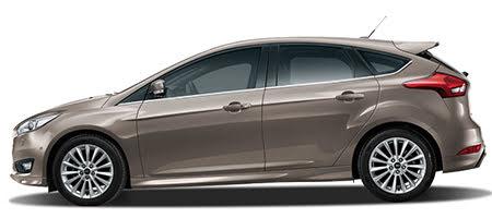 Ford Focus phiên bản màu bạc hổ phách