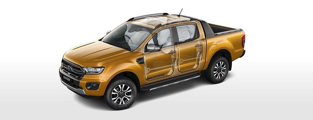 Túi khí Ford Ranger mới Wildtrak 2.0L AT 4X4 Bi Turbo Kép