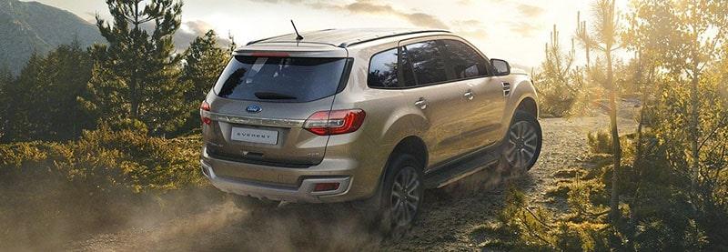 Tiện ích xung quanh trên xe Ford Everest 2019