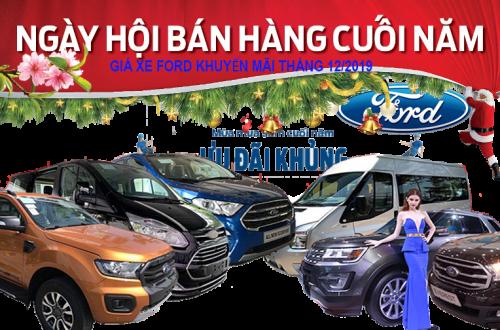 Gia-xe-ford-ranger-everest-khuyen-mai-va-lan-banh-12-2019